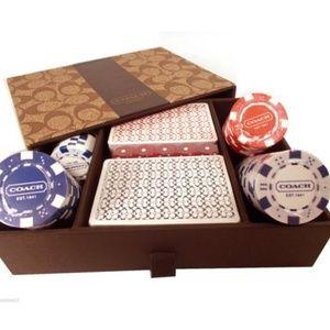 Coach Light Khaki/Poker Set New